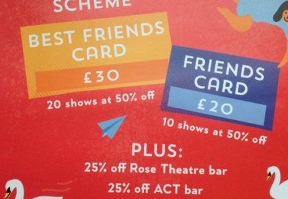Join our Friends Scheme for a Full-on Festival This Summer