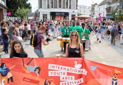 Festival Crowds Flock to Kingston Upon Fringe