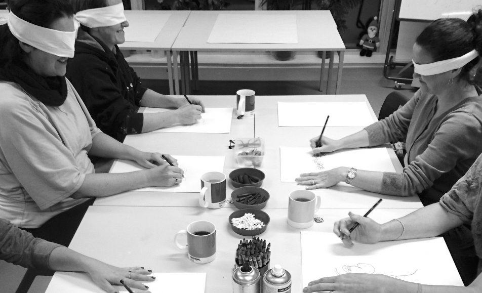 Blind Contour Drawing Workshop