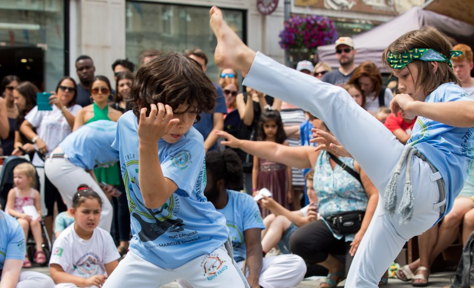 Capoeira Workshops by City Leaders
