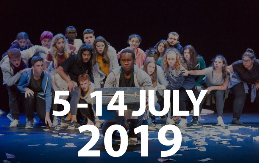 Key dates for International Youth Arts Festival 2019