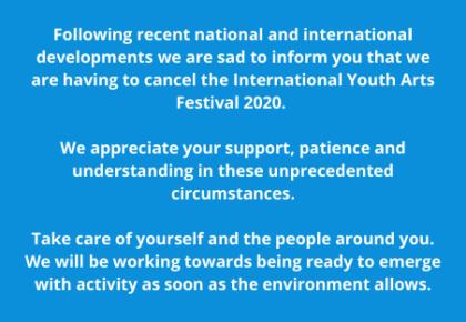 IYAF 2020: Cancelled